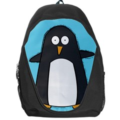 Hello Penguin Backpack Bag by PaolAllen