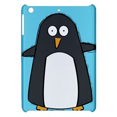 Hello Penguin Apple Ipad Mini Hardshell Case by PaolAllen