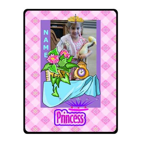 Princess Small Blanket By Joy Johns   Fleece Blanket (small)   Ruvdwmn604u4   Www Artscow Com 50 x40 Blanket Front