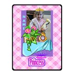 Princess small blanket - Fleece Blanket (Small)