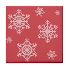 Let It Snow Ceramic Tile