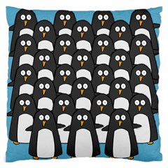 Penguin Group Large Cushion Case (single Sided)