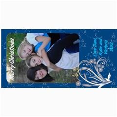 Danis Xmas Card By Crystal   4  X 8  Photo Cards   9a9dagls5b4f   Www Artscow Com 8 x4 Photo Card - 6