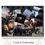 Dean - Wall Calendar 11  x 8.5  (12-Months)