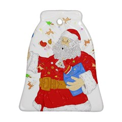 Santa Surprise Bell Ornament