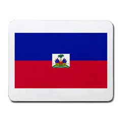 Flag_of_Haiti Small Mousepad by caribbeanflag