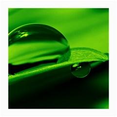 Green Drop Glasses Cloth (medium) by Siebenhuehner