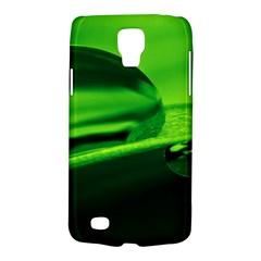 Green Drop Samsung Galaxy S4 Active (i9295) Hardshell Case by Siebenhuehner