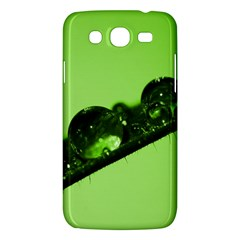 Green Drops Samsung Galaxy Mega 5 8 I9152 Hardshell Case  by Siebenhuehner