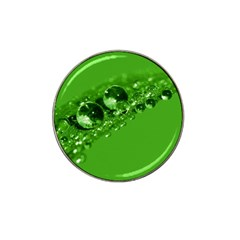 Green Drops Golf Ball Marker (for Hat Clip) by Siebenhuehner
