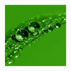 Green Drops Glasses Cloth (medium) by Siebenhuehner