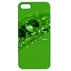 Green Drops Apple Iphone 5 Hardshell Case With Stand by Siebenhuehner