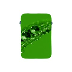 Green Drops Apple Ipad Mini Protective Soft Case by Siebenhuehner