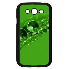 Green Drops Samsung Galaxy Grand Duos I9082 Case (black) by Siebenhuehner