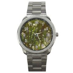 Waterdrops Sport Metal Watch by Siebenhuehner