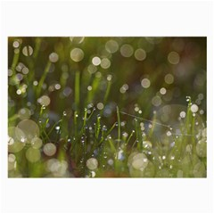 Waterdrops Glasses Cloth (large, Two Sided) by Siebenhuehner
