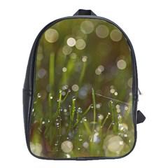 Waterdrops School Bag (large) by Siebenhuehner