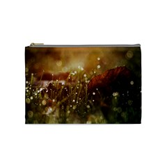 Waterdrops Cosmetic Bag (medium) by Siebenhuehner