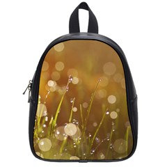 Waterdrops School Bag (small) by Siebenhuehner