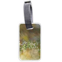 Sundrops Luggage Tag (two Sides)