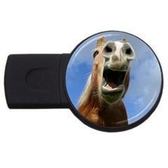 Haflinger  4GB USB Flash Drive (Round) by Siebenhuehner
