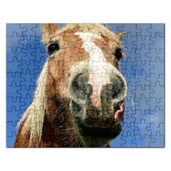 Haflinger  Jigsaw Puzzle (rectangle) by Siebenhuehner