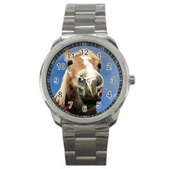 Haflinger  Sport Metal Watch by Siebenhuehner