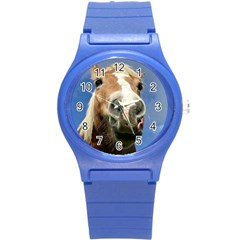 Haflinger  Plastic Sport Watch (small) by Siebenhuehner