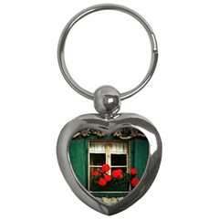 Window Key Chain (heart) by Siebenhuehner