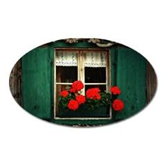 Window Magnet (oval) by Siebenhuehner