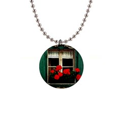 Window Button Necklace