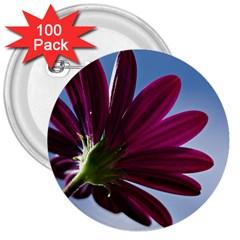 Daisy 3  Button (100 Pack) by Siebenhuehner