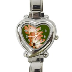 Osterspermum Heart Italian Charm Watch  by Siebenhuehner