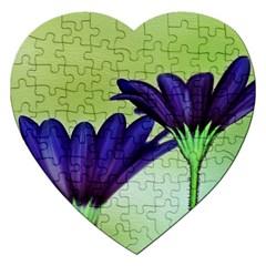 Osterspermum Jigsaw Puzzle (heart) by Siebenhuehner