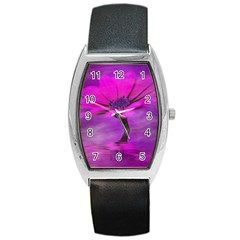 Osterspermum Tonneau Leather Watch