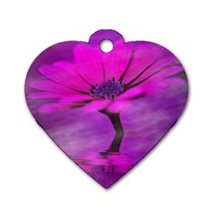 Osterspermum Dog Tag Heart (one Sided)  by Siebenhuehner