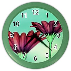Osterspermum Wall Clock (color) by Siebenhuehner