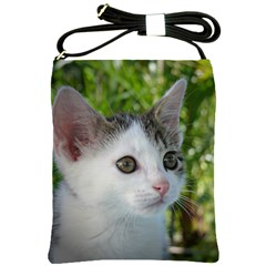 Young Cat Shoulder Sling Bag by Siebenhuehner