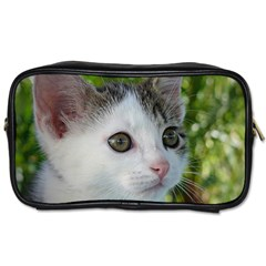 Young Cat Travel Toiletry Bag (two Sides) by Siebenhuehner
