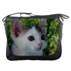 Young Cat Messenger Bag by Siebenhuehner