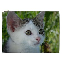 Young Cat Cosmetic Bag (xxl) by Siebenhuehner