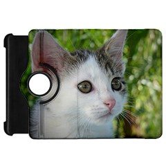 Young Cat Kindle Fire Hd 7  Flip 360 Case by Siebenhuehner
