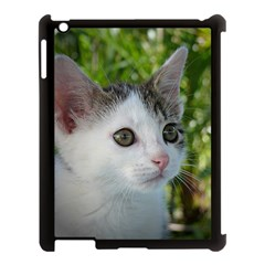 Young Cat Apple Ipad 3/4 Case (black) by Siebenhuehner