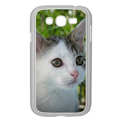 Young Cat Samsung Galaxy Grand Duos I9082 Case (white) by Siebenhuehner
