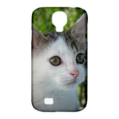 Young Cat Samsung Galaxy S4 Classic Hardshell Case (pc+silicone)