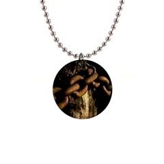 Chain Button Necklace by Siebenhuehner