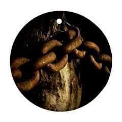 Chain Round Ornament by Siebenhuehner