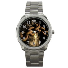 Chain Sport Metal Watch by Siebenhuehner