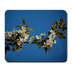 Cherry Blossom Large Mouse Pad (rectangle) by Siebenhuehner