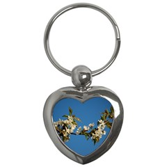 Cherry Blossom Key Chain (heart) by Siebenhuehner